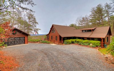 Blue Ridge Single Family Home For Sale: 46 Chestnut Ridge