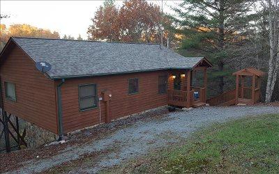Blue Ridge Single Family Home For Sale: 111 Tom Tom Tr