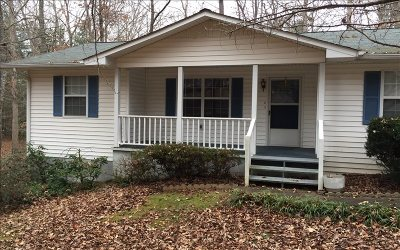 Blairsville Single Family Home For Sale: 844 Wesley Mountain Dr