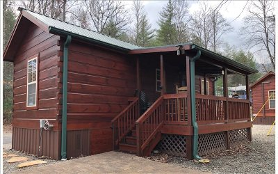 Hiawassee Single Family Home For Sale: 62 Bald Mtn Camp Resort