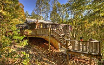 Ellijay Single Family Home For Sale: 587 Stillhouse Creek Dr