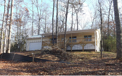 Blairsville Single Family Home For Sale: 327 Piney Point Road