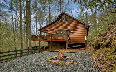 Blue Ridge Single Family Home For Sale: 285 Flat Creek Crossing