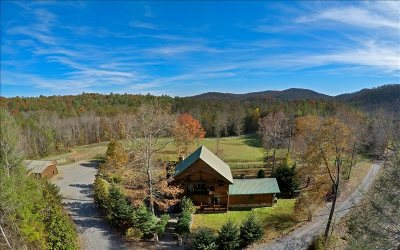 Blue Ridge Single Family Home For Sale: 1892 Pack Creek Road