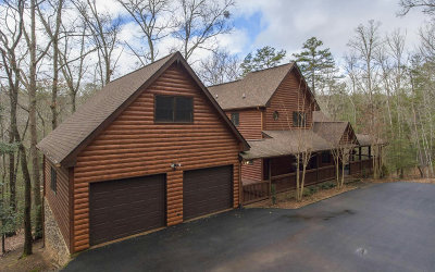 Blue Ridge Single Family Home For Sale: 2975 Mountain Tops Rd