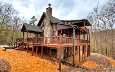 Blue Ridge Single Family Home For Sale: 1015 Mangums Trail