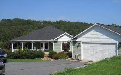 Hiawassee Single Family Home For Sale: 1477 Ada Lane