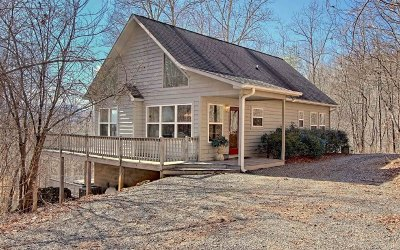 Hayesville Single Family Home For Sale: 154 Mill Creek Overlook