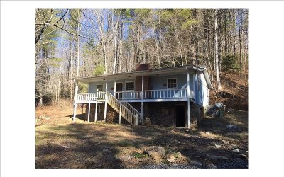 Murphy NC Single Family Home For Sale: $72,500