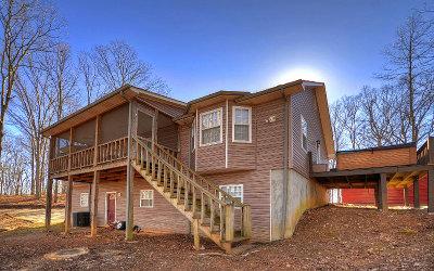 Blue Ridge Single Family Home For Sale: 115 Oakland Drive