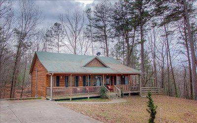 Ellijay Single Family Home For Sale: 161 Foxhound Court