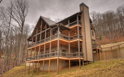 Blue Ridge Single Family Home For Sale: 239 Covered Bridge Lane