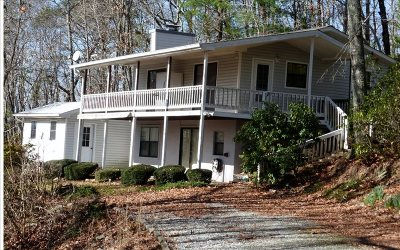 Blairsville Single Family Home For Sale: 163 Cobb Mountain Circle