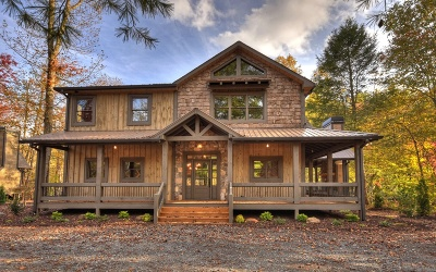 Blue Ridge Single Family Home For Sale: 22 Weyman's Way