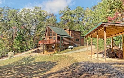Blue Ridge Single Family Home For Sale: 14613 Morganton Hwy