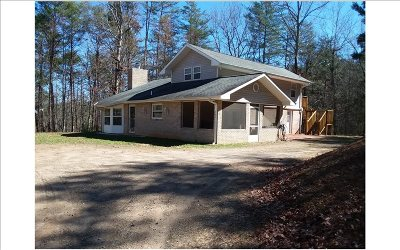 Murphy Single Family Home For Sale: 365 Crooked Creek Rd