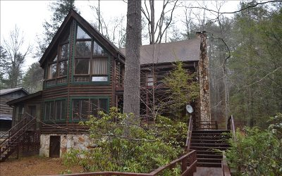 Blue Ridge Single Family Home For Sale: 345 Upper Shallowford Rd