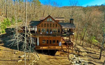 Blue Ridge Single Family Home For Sale: 119 Green Ridge Overlook