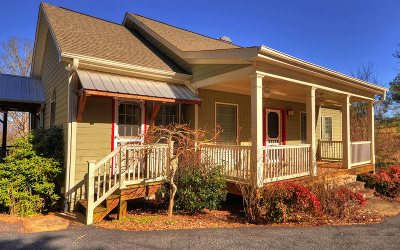 Blairsville Single Family Home For Sale: 84 Butterfly Lane
