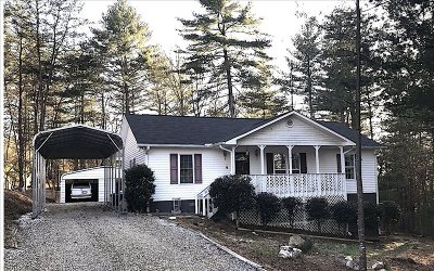 Blairsville Single Family Home For Sale: 169 Lance Crossing Rd