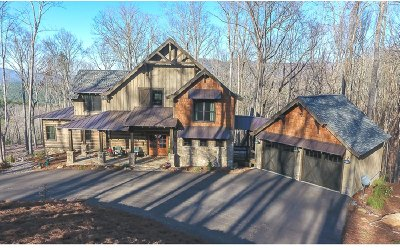 Ellijay Single Family Home For Sale: 601 Greystone Trace