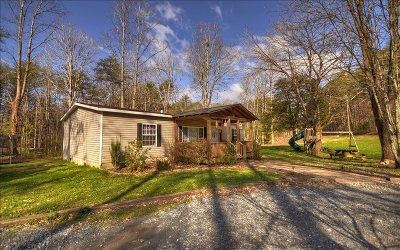 Ellijay Single Family Home For Sale: 400 Tickanetley Rd