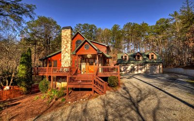 McCaysville Single Family Home For Sale: 789 W Hidden Valley Lakes