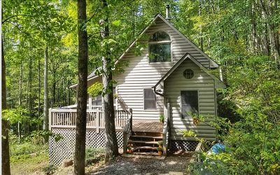 Cherry Log Single Family Home For Sale: 6976 Cashes Valley Rd