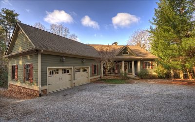 Ellijay Single Family Home For Sale: 863 Lazy River Ln