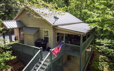 Hiawassee Single Family Home For Sale: 3111 Creekview