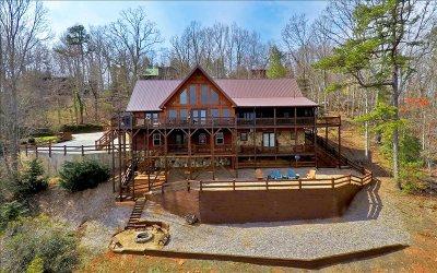 Blue Ridge Single Family Home For Sale: 112 Eagles Nest