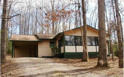 Blairsville Single Family Home For Sale: 1170 Bradley Rd