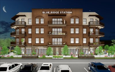 Blue Ridge Single Family Home For Sale: 4b Blue Ridge Lofts