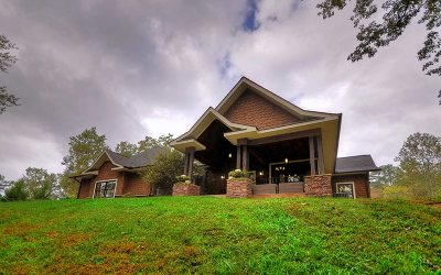 Blue Ridge Single Family Home For Sale: 2637 Mountain Tops Road