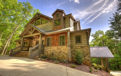 Gilmer County Single Family Home For Sale: 153 Covered Bridge Lane