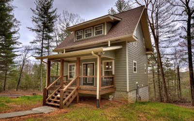 Mineral Bluff Single Family Home For Sale: 239 Seven Pines Trail