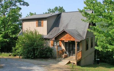 Hiawassee Single Family Home For Sale: 4887 Laurel Mtn Rd