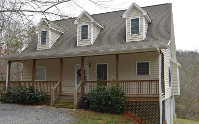 Hiawassee Single Family Home For Sale: 2615 Rolling River Drive