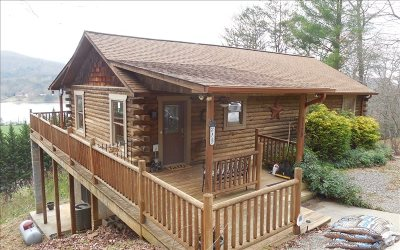 Hiawassee Single Family Home For Sale: 1128 Happy Top Lane