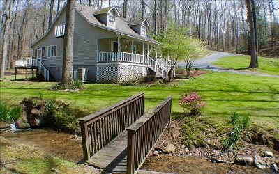 Ellijay GA Single Family Home For Sale: $191,500