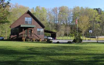 Hayesville Single Family Home For Sale: 265 Rivers Edge Drive