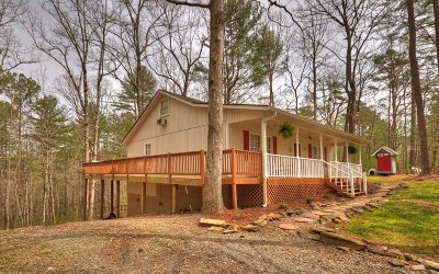 Ellijay GA Single Family Home For Sale: $149,931