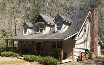 Hiawassee Single Family Home For Sale: 7880 Hiawassee Wilderness