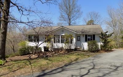 Warne Single Family Home For Sale: 451 Hillside Drive