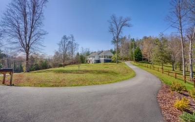 Blue Ridge Single Family Home For Sale: 315 Johns Ridge Road