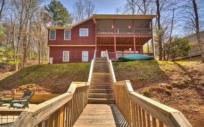 Ellijay Single Family Home For Sale: 1369 Zenith Trail