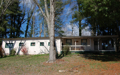 Hayesville Single Family Home For Sale: 872 Old Hwy. 64 East
