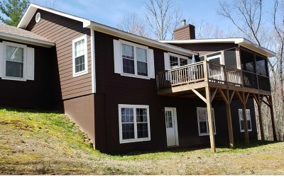 Andrews, Brasstown, Culberson, Hayesville, Marble, Murphy, Robbinsville, Topton Single Family Home For Sale: 605 Hamby Road