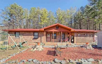 Hayesville Single Family Home For Sale: 1482 Fires Creek Road
