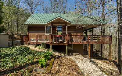 Blue Ridge Single Family Home For Sale: 592 Cabin Trail